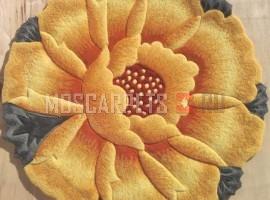 Ковер Golden Falcon Brand 563-157 прямоугольник желтый