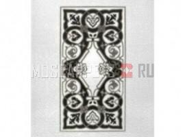 Ковер PIERRE CARDIN SANZELIZE 884D прямоугольник черно-белый