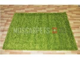 Ковер SHAGGY ULTRA S600 GREEN 2 прямоугольник