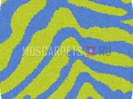 Ковер SHAGGY ULTRA S604 GREEN-BLUE овал