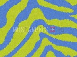 Ковер SHAGGY ULTRA S604 GREEN-BLUE прямоугольник