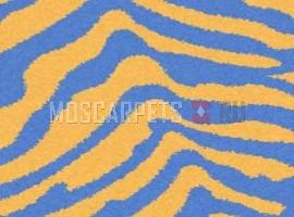 Ковер SHAGGY ULTRA S604 YELLOW-BLUE прямоугольник