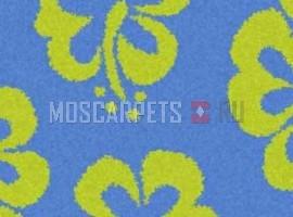Ковер SHAGGY ULTRA S605 BLUE-GREEN прямоугольник