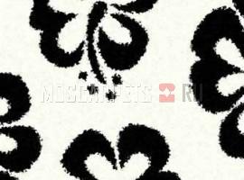 Ковер SHAGGY ULTRA S605 BONE-BLACK прямоугольник