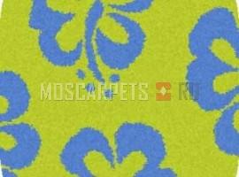 Ковер SHAGGY ULTRA S605 GREEN-BLUE овал