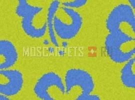 Ковер SHAGGY ULTRA S605 GREEN-BLUE прямоугольник