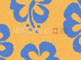 Ковер SHAGGY ULTRA S605 YELLOW-BLUE прямоугольник
