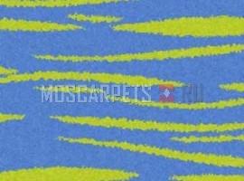 Ковер SHAGGY ULTRA S608 BLUE-GREEN прямоугольник