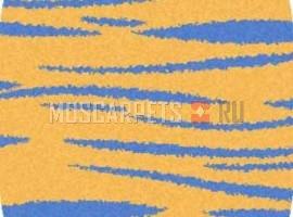 Ковер SHAGGY ULTRA S608 YELLOW-BLUE овал