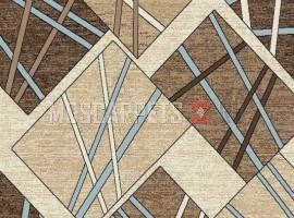 Ковер SIERRA D487 BEIGE-BROWN- прямоугольник