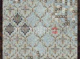 Ковер SIERRA d712 BLUE-BROWN прямоугольник