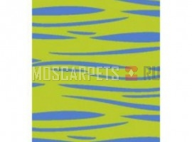 Ковер SHAGGY ULTRA S608 GREEN-BLUE прямоугольник