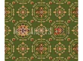 Ковер VALENCIA P008 GREEN прямоугольник