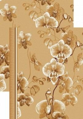 Палас Весна 1179/43 бежево-коричневый