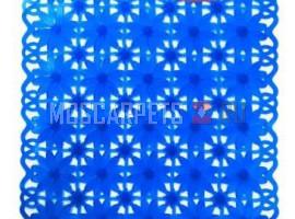 Коврик SPA-коврик SHAHINTEX ромашка синий
