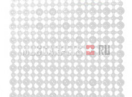 Коврик SPA-коврик SHAHINTEX сеточка белый