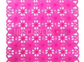 Коврик SPA-коврик SHAHINTEX ромашка розовый