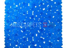 Коврик SPA-коврик SHAHINTEX камушки с ракушками синий
