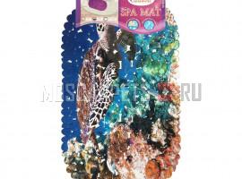 Коврик SPA-коврик SHAHINTEX фотопринт разноцветный Черепаха
