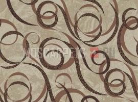Палас Сальто 170 коричневый