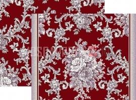 Палас Лувр 1317/85 жемчужно-бордовый