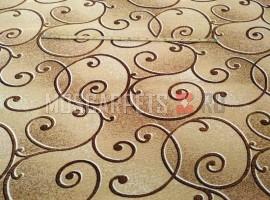 Палас Амели 1250a2/43 бежево-коричневый