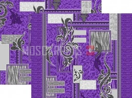 Палас Визаж 1530a5/50 серо-фиолетовый