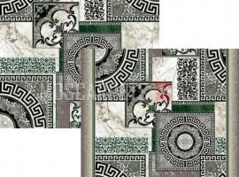 Палас Афины 1559a1/206 зелено-белый