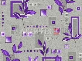 Палас Ванда 9425 серо-фиолетовый