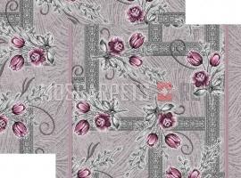 Палас Сорбет 1252b2/50 серо-фиолетовый