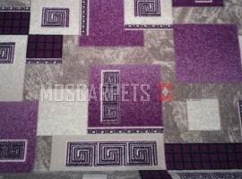 Палас Греция 1286е2/50 серо-фиолетовый