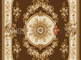 Палас Венера 1379b1/43 бежево-коричневый