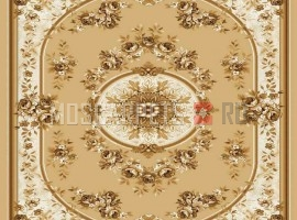 Палас Венера 1379b2/43 бежево-коричневый