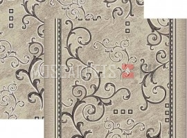 Палас Аэлита 1612a5/100 серо-белый