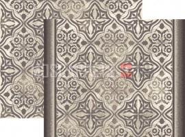 Палас Вектор 1697a6/100 серо-белый