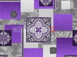 Палас Есения 1708c2/50 серо-фиолетовый