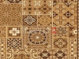 Палас Аравия 1723 бежево-коричневый