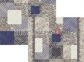 Палас Гранит 1745a2/101 сине-серый
