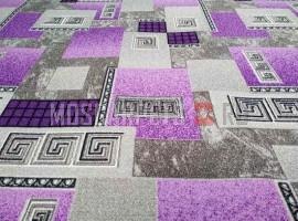 Палас Гермес 9425 серо-фиолетовый