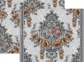 Палас Канфара 1267/54 серо-коричневый