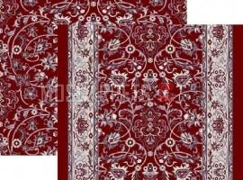 Палас Парадиз 1423с4/85 жемчужно-бордовый