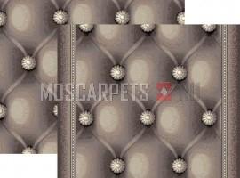 Палас Раппорт 1579b6/100 бело-серый