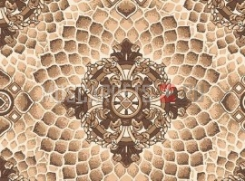 Палас Алладин 1821 бежево-коричневый