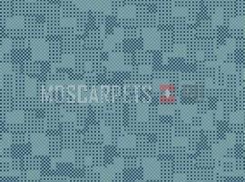 Палас Матрица 5019 бирюзовый