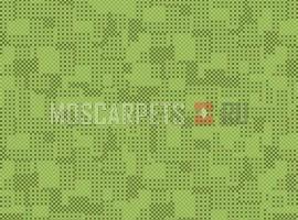 Палас Матрица 6025 серо-зеленый