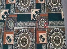 Палас Колизей 602 коричнево-зеленый