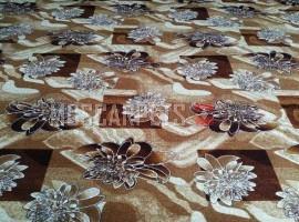 Палас Кувшинка 1073/43 бежево-коричневый
