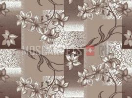 Палас Афродита 145 коричневый