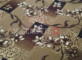 Палас Афродита 1726 бежево-коричневый