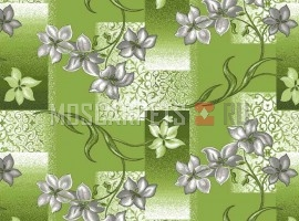 Палас Афродита 6025 серо-зеленый
